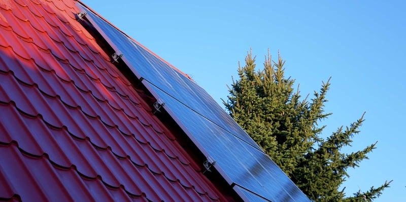Schatten vermindert die Effizienz von PV-Anlagen