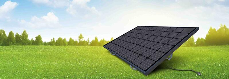 Sonnenkraftwerk Photovoltaik am Balkon